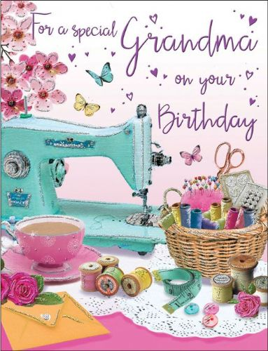 For A Special Grandma On Your Birthday Sewing